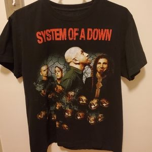 Vintage System of a Down T-shirt (1990s)